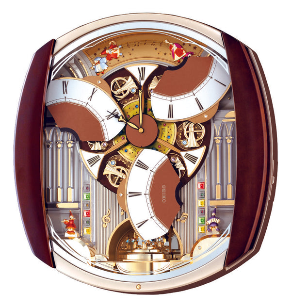 Seiko Melody in Motion Wall Clock QXM250B