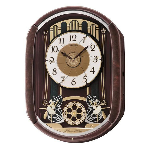 Seiko Melody in Motion Wall Clock QXM279B