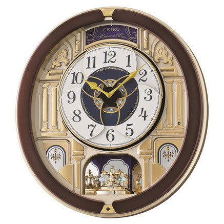 Seiko Melody in Motion Wall Clock QXM356B