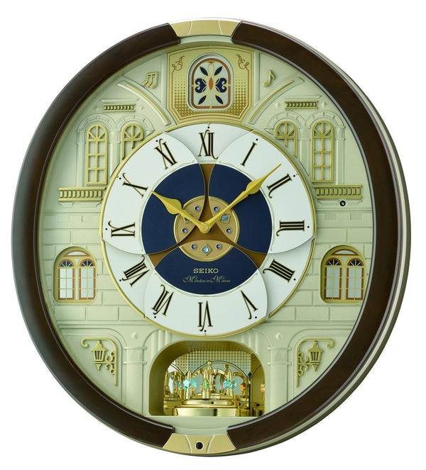 Seiko Melody in Motion Wall Clock QXM371B