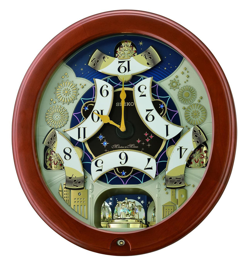 Seiko Melody in Motion Wall Clock QXM376B