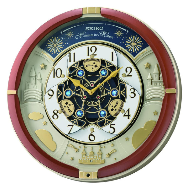 Seiko Melody in Motion Wall Clock QXM378B