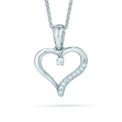 The Real Effect Heart Necklace