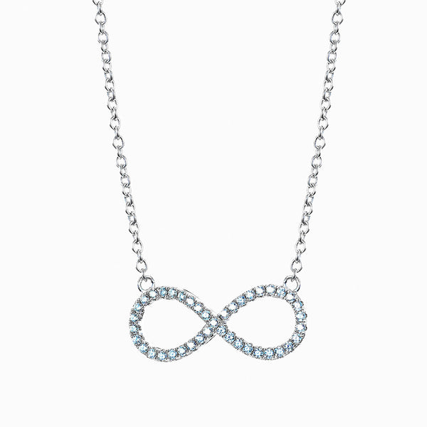 The Real Effect Infinity Necklace