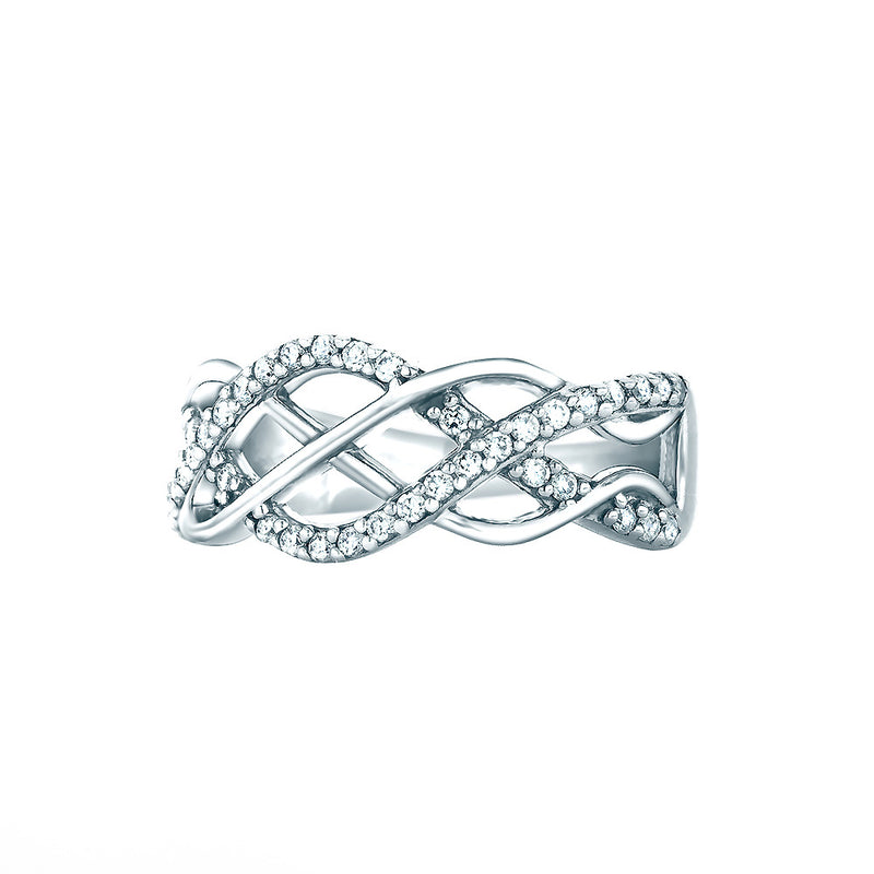 Real Effect Plaited Ring RE27234