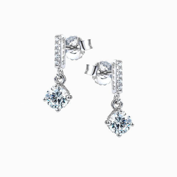 The Real Effect CZ Drop Earrings RE30764