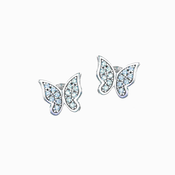 The Real Effect Butterfly Earrings RE34834