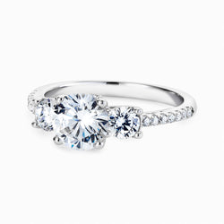 Real Effect 3 Stone Ring RE35754