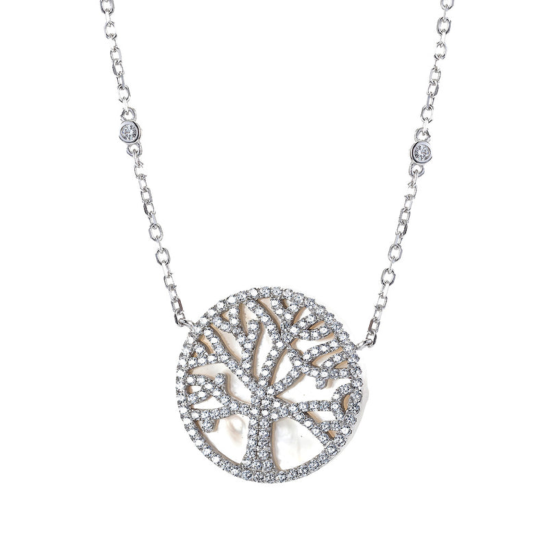 The Real Effect Tree Of Life Necklace RE38684