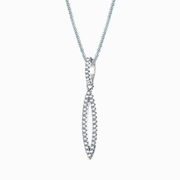 The Real Effect Marquise Necklace RE38774