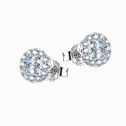 The Real Effect Multi Cut CZ Earrings RE39044CZ