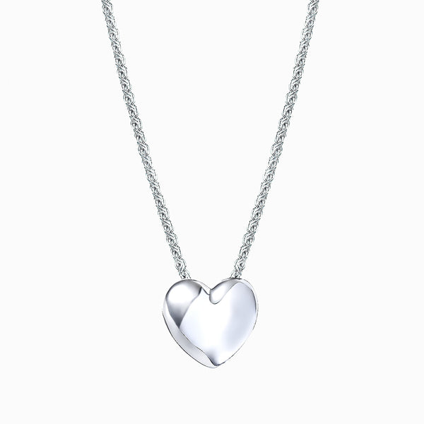 The Real Effect Heart Necklace RE40094