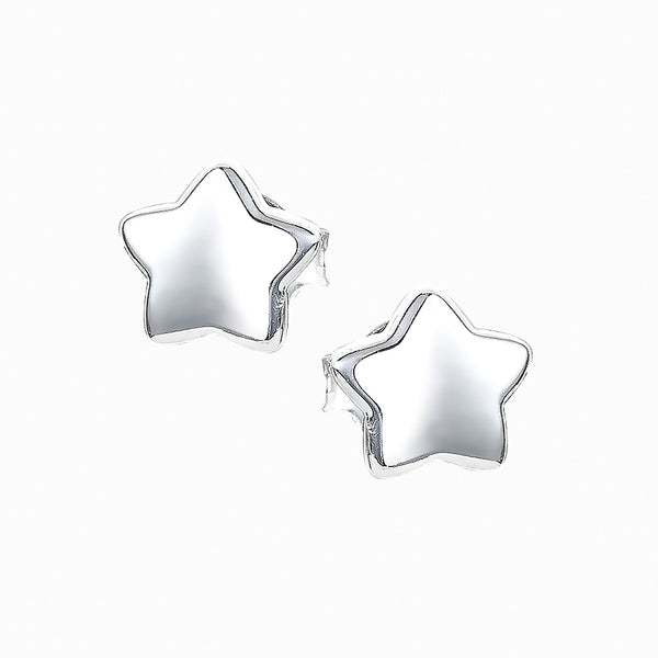 The Real Effect Star Stud Earrings RE40114