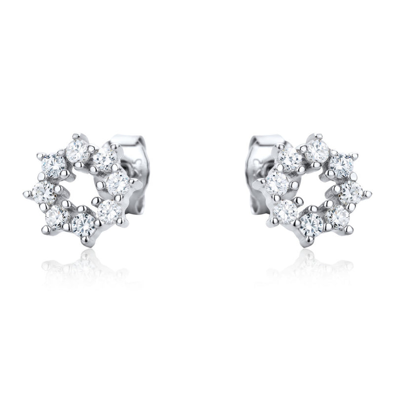 The Real Effect CZ Earrings RE41064