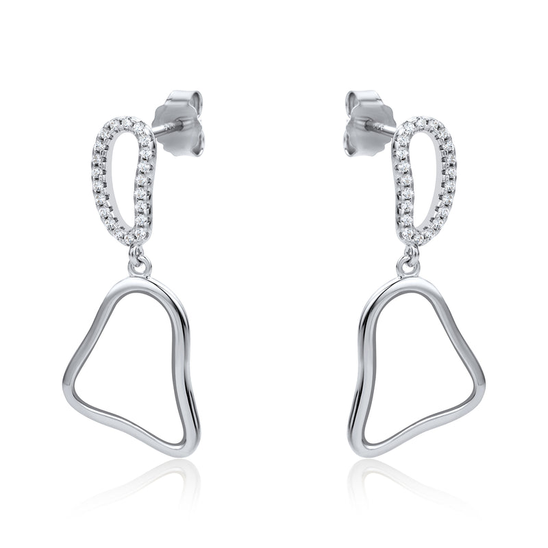 The Real Effect Drop Earrings RE43864