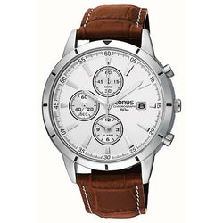Lorus Men's Strap Chronograph Watch RF325BX9