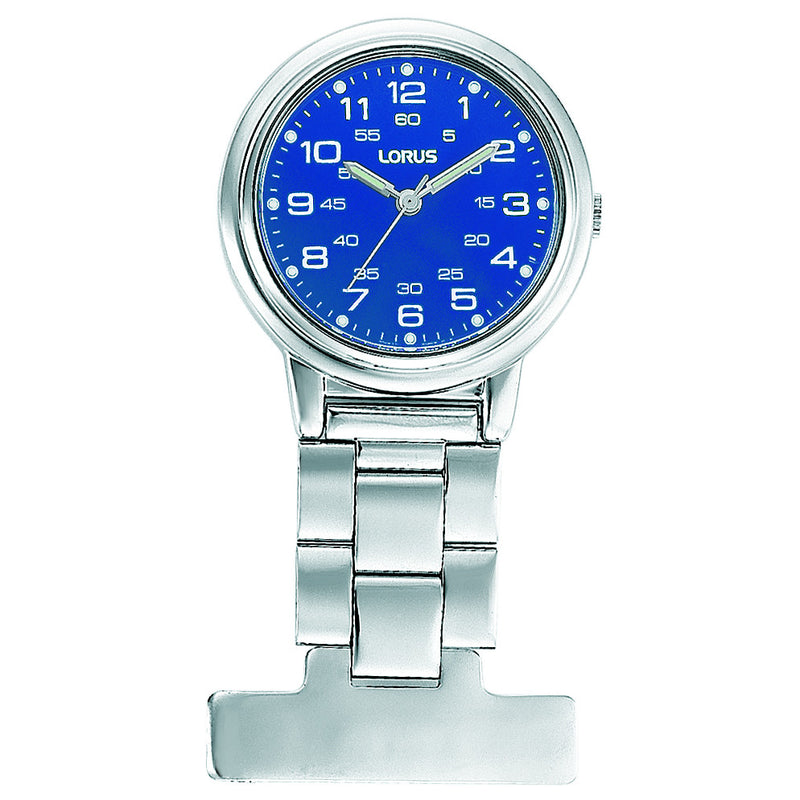 Lorus Nurses Fob Watch Blue Dial RG251DX9