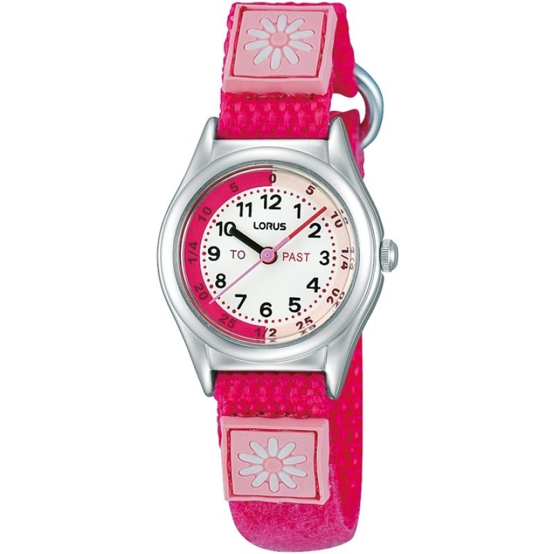 Lorus Girl's Time Teach Watch RG253KX9