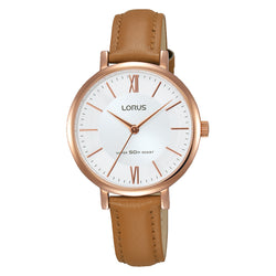 Lorus Ladies Classic Strap Watch RG262LX9