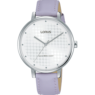 Lorus Ladies Modern Lilac Strap Watch RG267PX8