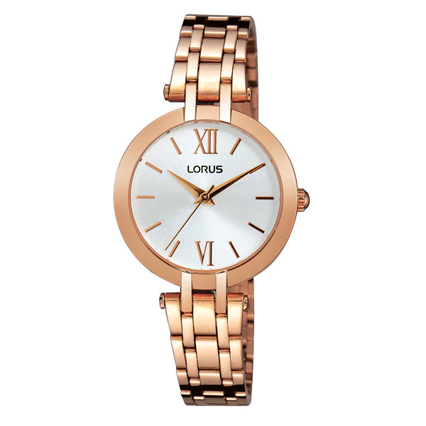 Lorus Ladies Two Tone Bracelet Watch RG284KX9