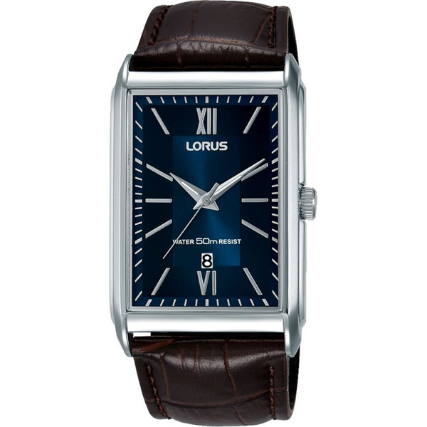 Lorus Men's Rectangular Case Dress Watch RH911JX9