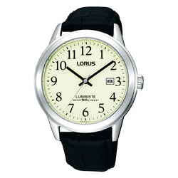 Lorus Men's Classic Lumibrite Dial Watch RH929BX9