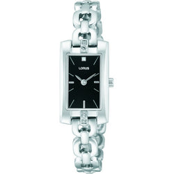 Lorus Ladies Rectangular Bracelet Watch RJ445BX9