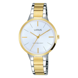 Lorus Ladies Two Tone Bracelet Watch RRS02WX9