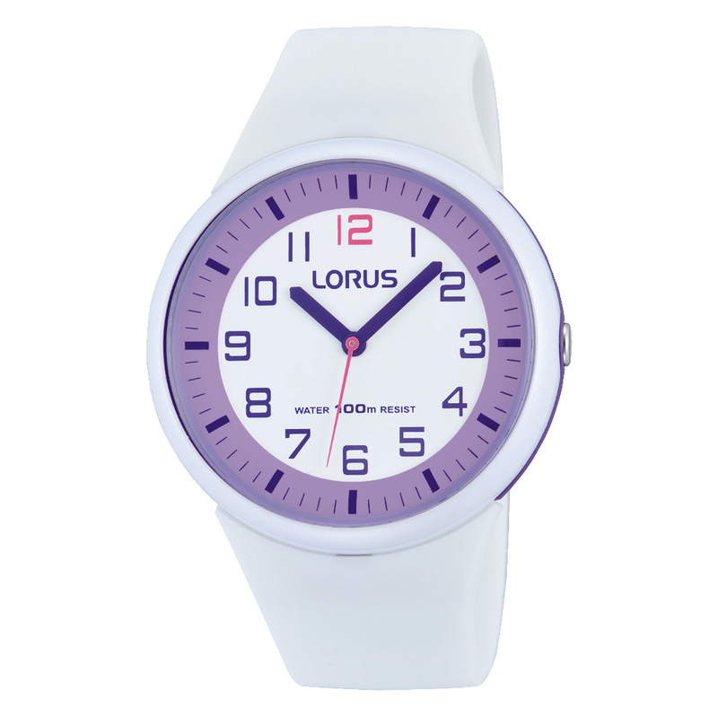 Lorus Children's Silicone Watch RRX61DX9