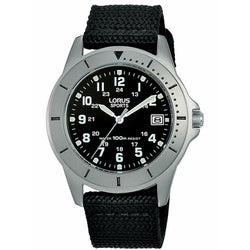 Lorus Men's Military Style Titanium Watch RS935DX9