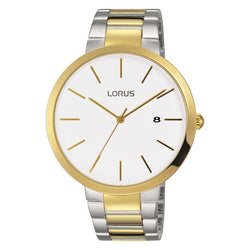 Lorus Men's Two Tone Bracelet Watch RS990CX9