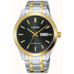 Lorus Men's Two Tone Bracelet Watch RXN58DX9