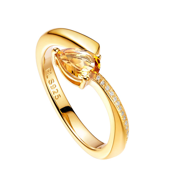 Shooting Star Ring by Fei Liu