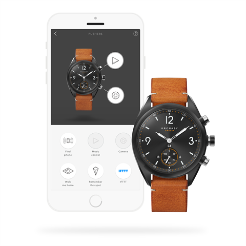 Kronaby Apex 41mm Smart Hybrid Watch S3116/1 connected
