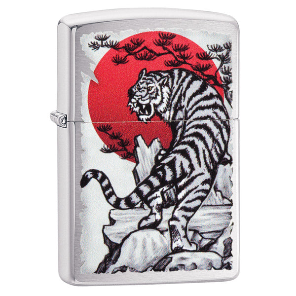 Zippo Asian Tiger Design Lighter