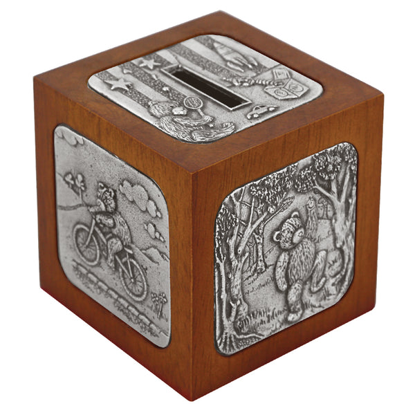 English Pewter Childrens Money Box BG453