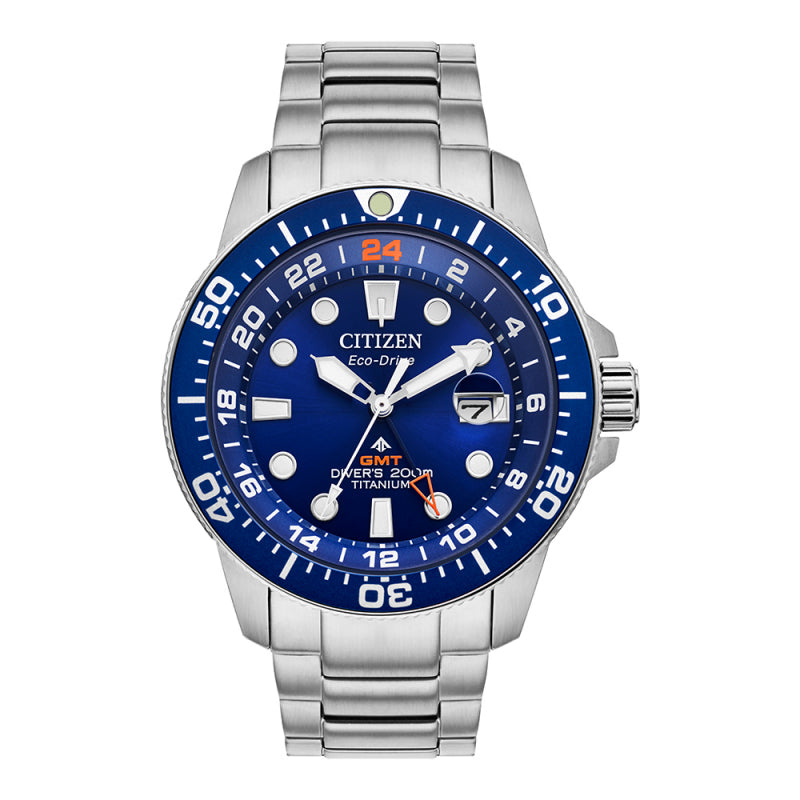 Citizen Eco Drive Promaster Titanium Diver Men's Watch BJ7111-51M