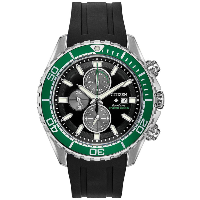 Citizen Eco Drive Promaster Diver Chronograph Men's Watch CA0715-03E