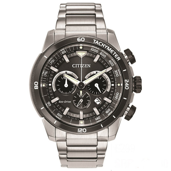 Citizen Eco Drive Mens Sport Bracelet Watch CA4150-67E