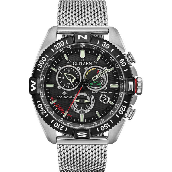 Citizen Mens Promaster Navihawk A.T Radio Controlled Watch CB5840-59E