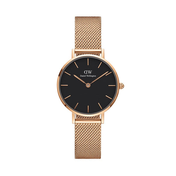 Daniel Wellington Classic Petite Black Melrose 28mm