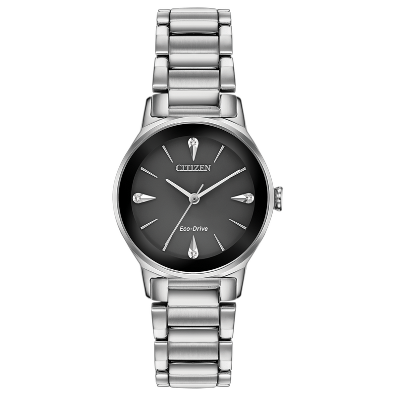 Citizen Eco Drive Ladies Axiom Diamond Watch EM0730-57E