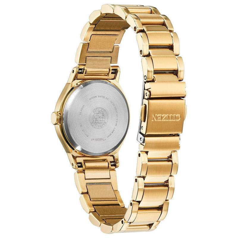 Citizen Eco Drive Ladies Axiom Diamond Watch EM0732-51P back