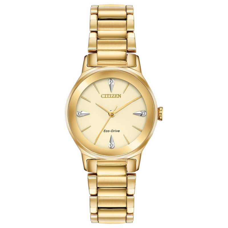 Citizen Eco Drive Ladies Axiom Diamond Watch EM0732-51P