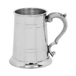 Pewter 1 Pint Tankard Georgian Handle EP003