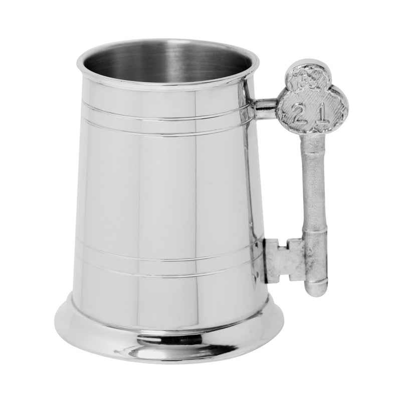 Pewter 1 Pint Tankard 21 Key Handle EP011