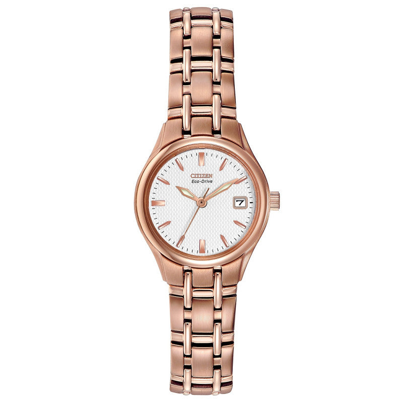 Citizen Eco Drive Ladies Rose Bracelet Watch EW1263-52A