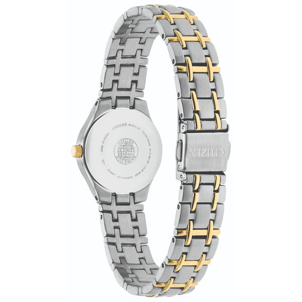 Citizen Eco Drive Ladies Silhouette Watch EW1264-50A back
