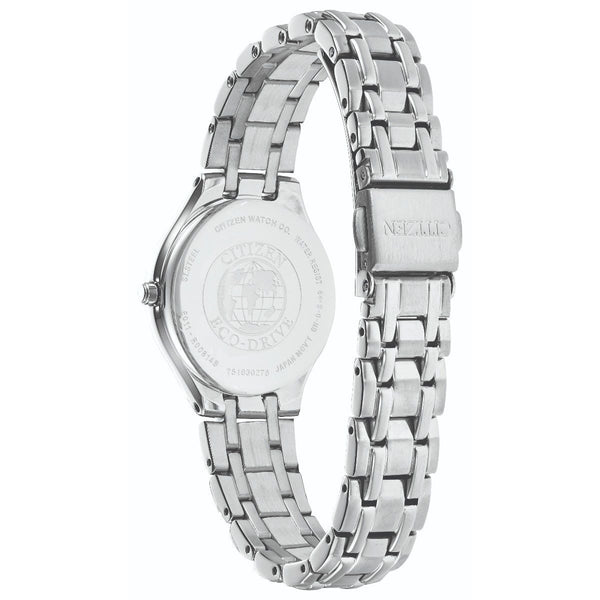 Citizen Eco Drive Ladies Silhouette Watch EW2480-59A back